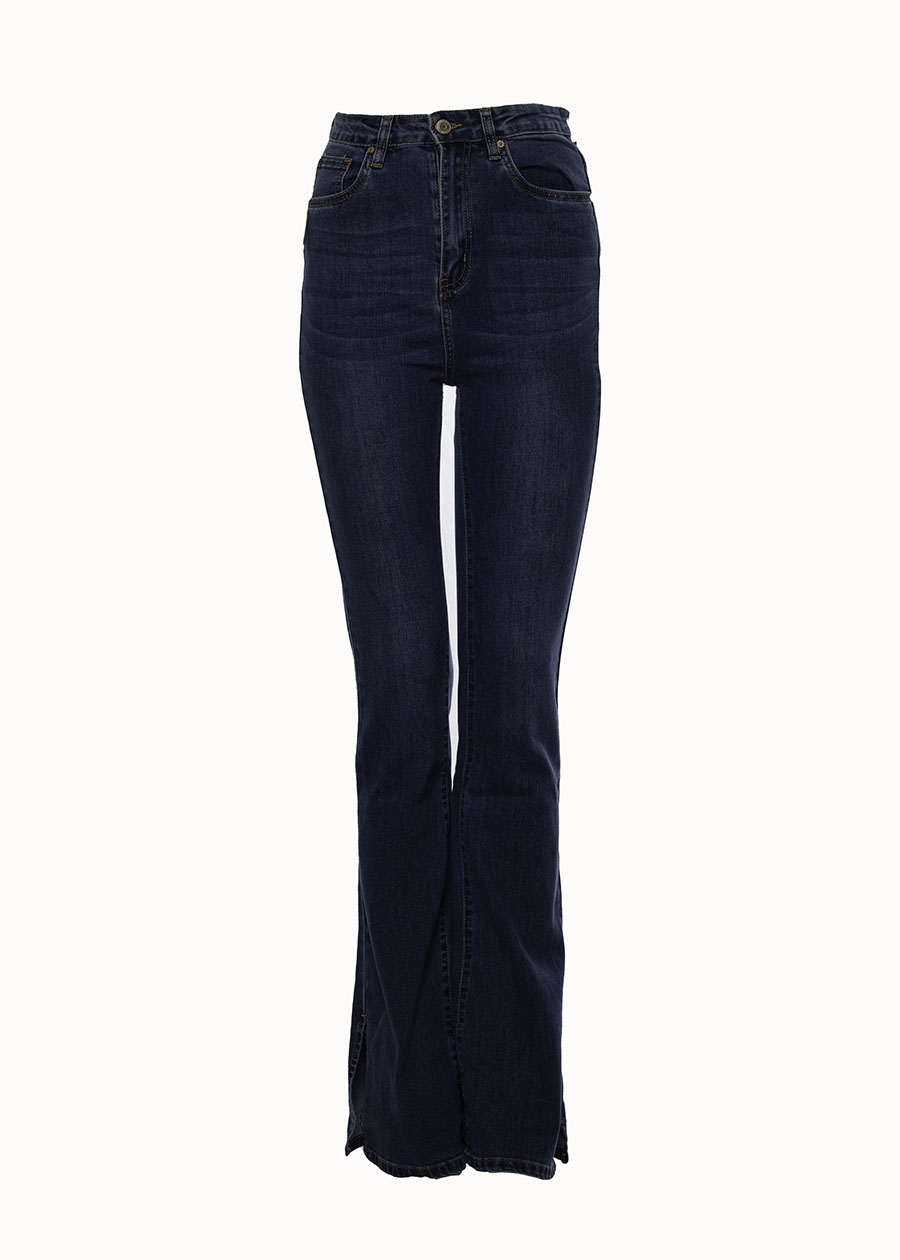 Flared jeans navy