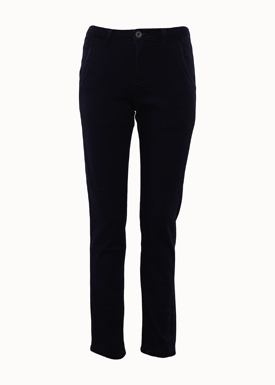 Blauwe mid rise jeans