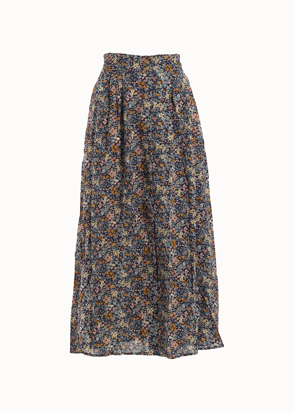 Maxi skirt floral time